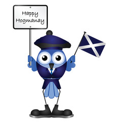 Comical Happy Hogmanay