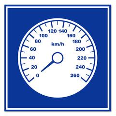 Señal velocimetro
