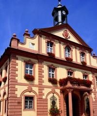 Historische Rathaus in RASTATT (Schwarzwald)