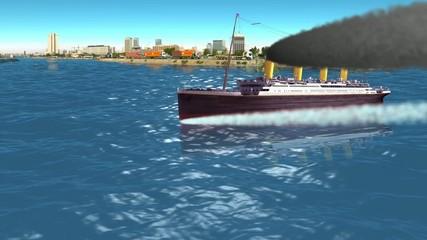 TITANIC sailing in jeddah