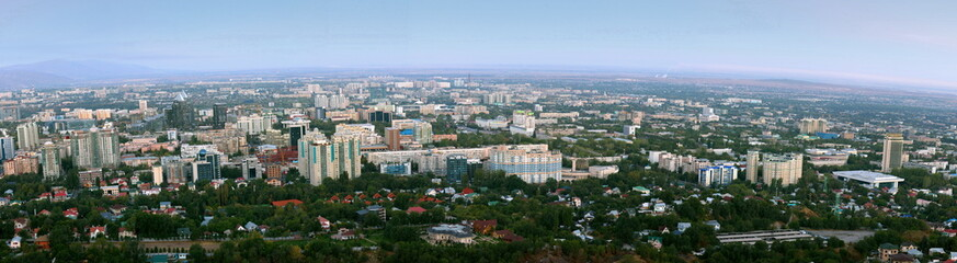 Panoramic view of city