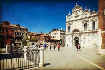 Venezia - Campo dell'antico ospedale San Giovanni e Paolo