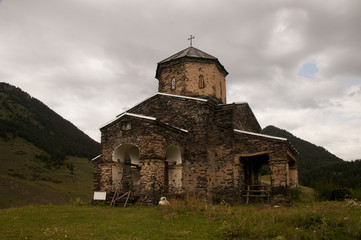 Church of the Holy Trinity in Shenako, Georgia