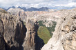 Sellagruppe und Cirspitzen - Dolomiten - Alpen