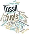 Word cloud for Fossil fuels
