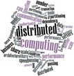 Word cloud for Distributed Computing