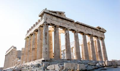 Beautiful Parthenon in Greece