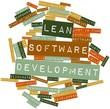 Word cloud for Lean Software Development
