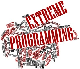 Word cloud for Extreme Programming