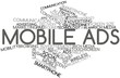 Word cloud for Mobile Ads