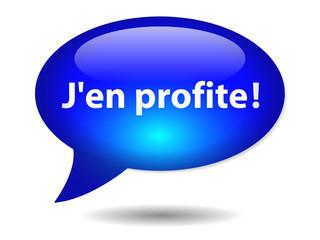 Bouton Web J'EN PROFITE (cliquer ici bons plans offre spéciale)