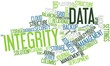 Word cloud for Data Integrity