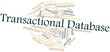 Word cloud for Transactional Database