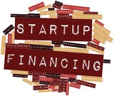 Word cloud for Startup Financing poster