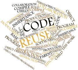 Word cloud for Code Reuse
