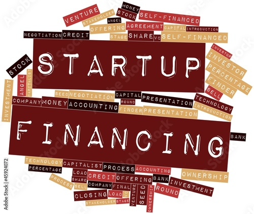 Word cloud for Startup Financing