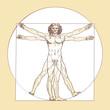 Leonardo da Vinci's Vitruvian Man - 45925226