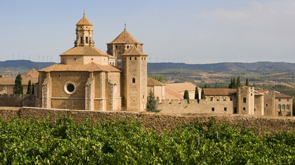 Monastic site of Poblet