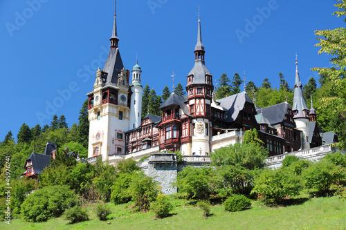 Romania - famous Peles castle