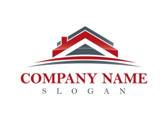 red real estate logo