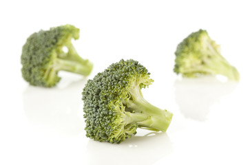 Fresh Green Organic Broccoli