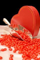 Spilled Cinnamon Hearts