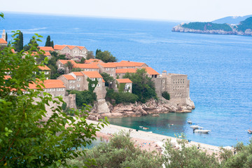 Sveti Stefan coast