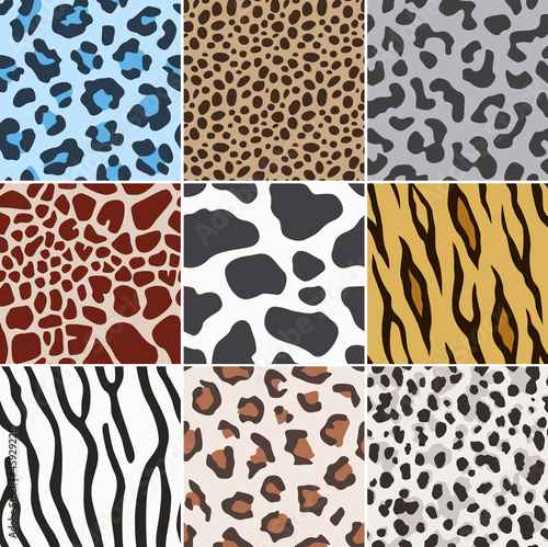 seamless animal skin fabric pattern texture