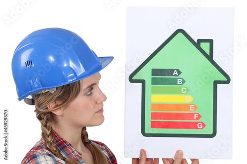 Female housebuilder
