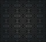 Black victorian  wallpaper
