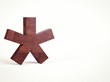 Wooden Asterisk