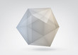 Transparent icosahedron