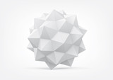 Polyhedron for graphic design - 45934257