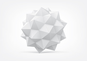 Polyhedron for graphic design