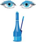 rimmel per occhi celesti -mascara for blue eyes poster