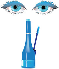 rimmel per occhi celesti -mascara for blue eyes