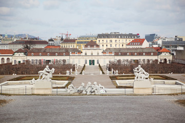Lower Belvedere in Vienna, Austria