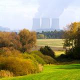 Nuclear power plant Temelin in Czech Republic.