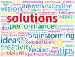 SOLUTIONS Tag Cloud (ideas business quality projects innovation)