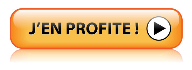 Bouton Web J'EN PROFITE (bons plans offre spéciale soldes vente)
