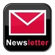Glossy Button - Newsletter schwarz rot