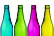 four color bottles