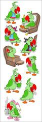 Parrot Vectors
