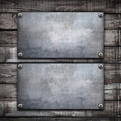doppia piastra su legno