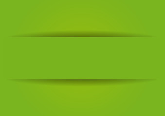 Étiquette papier vert