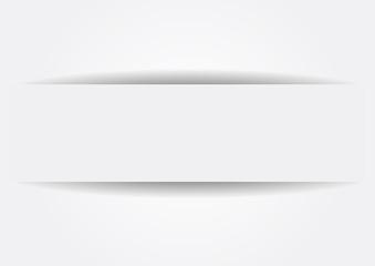 Étiquette papier blanc
