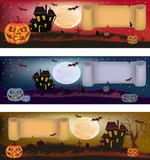 Halloween , postcard .