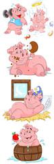 Pig Vector Illustrations