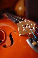 violon ouie chevalet détail