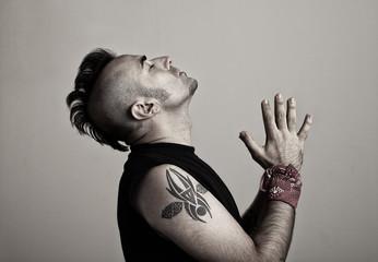 tattoed prayer